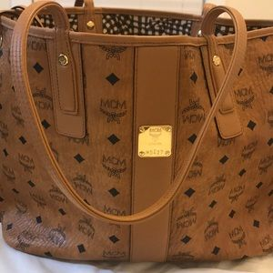 Authentic MCM Large Tote